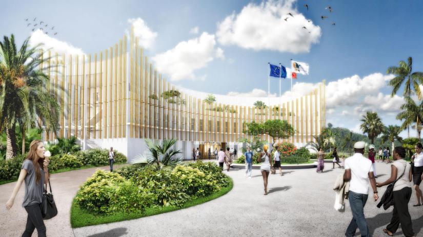 Hotel de ville de Rivière-Salée en Martinique
