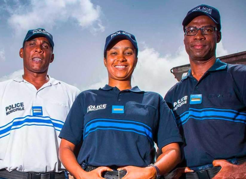 La police municipale à Rivière-Salée