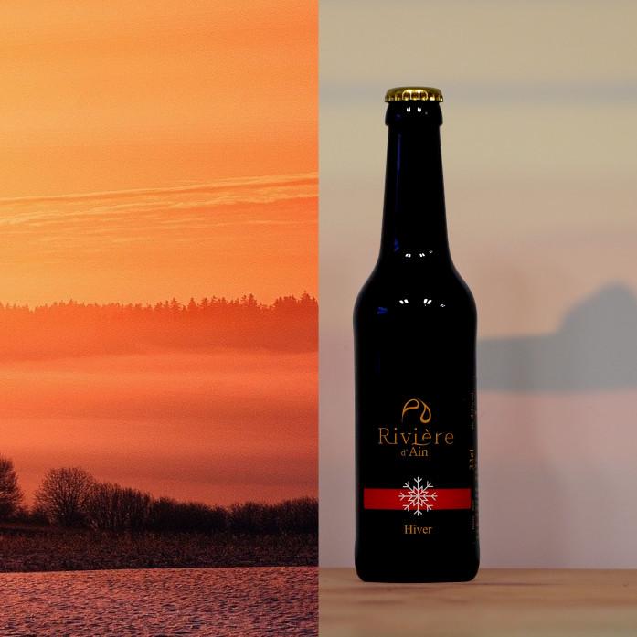 Bière d'hiver Rivière d'Ain