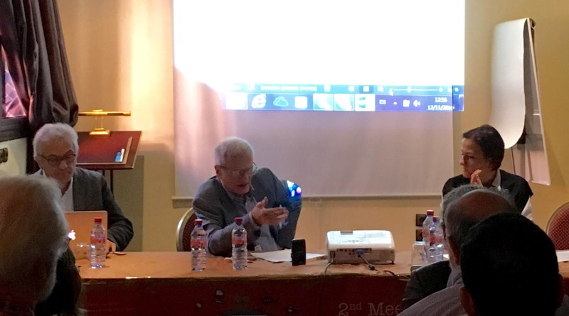 20161112 Mario Salomone at 2nd Meeting co-chairing panel 2
