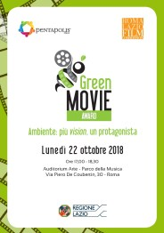 Green Movie Award 22 ottobre