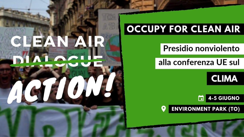 """""""Chi vive in zone inquinate non sceglie l'aria che respira, gli viene imposta"""". L'intervento dei Fridays for future al Clean air dialogue"""