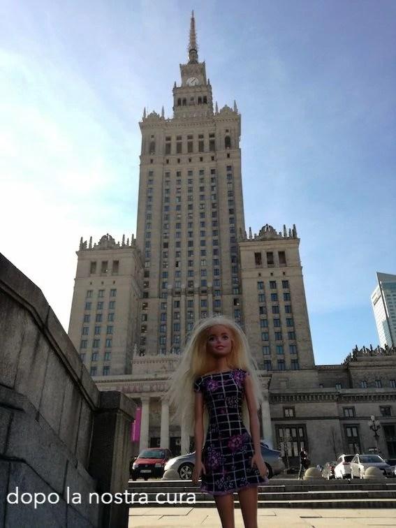 palazzo della cultura e della scienza Varsavia