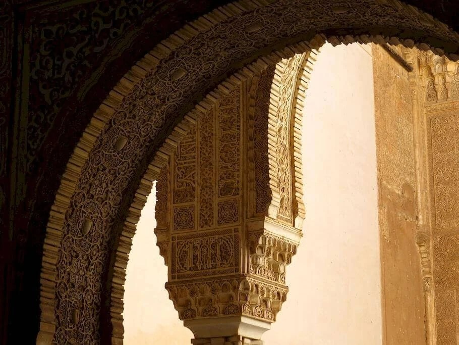 granada alhambra colonne