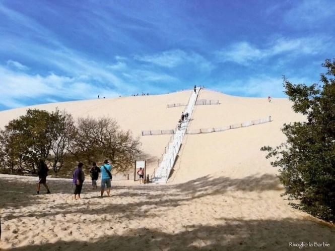 salita dune du pilat arcachon bordeaux