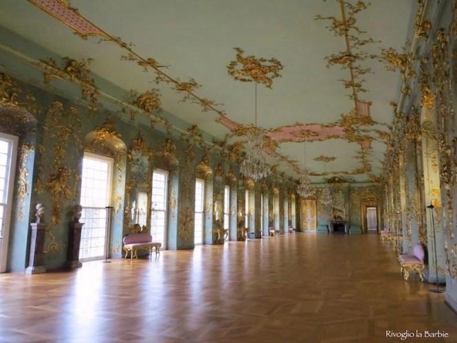 Salone delle feste castello di Charlottenburg Berlino