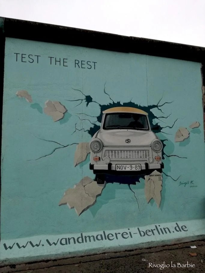 Birgit Kinder Berlin Wall Trabant