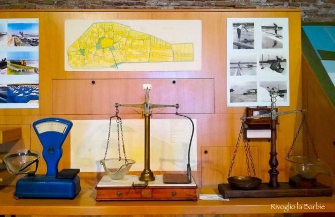 bilance misurazione sale museo cervia