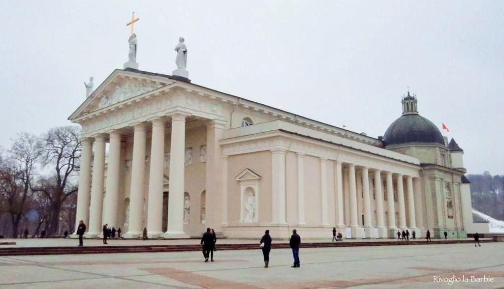 esterno cattedrale vilnius