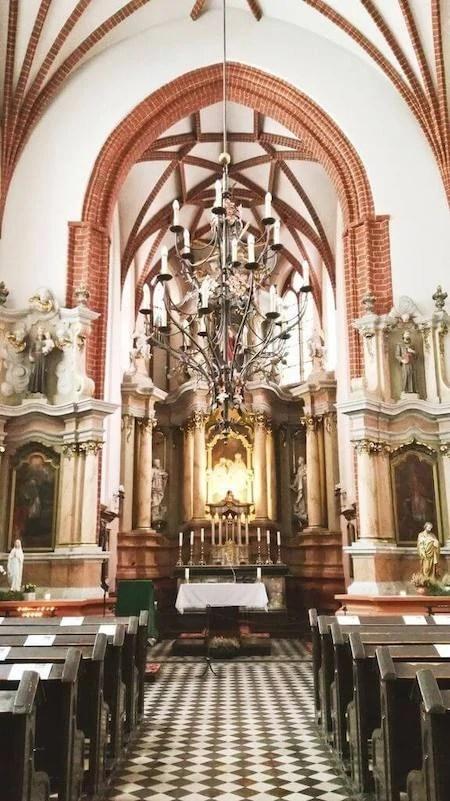 Chiesa di Sant'Anna interni