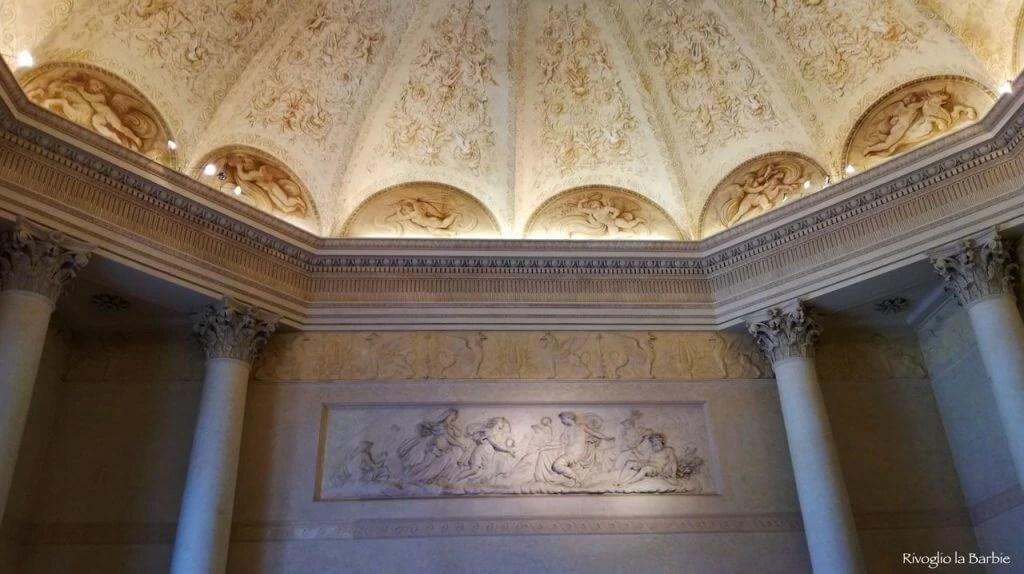salone ottagonale palazzo Milzetti