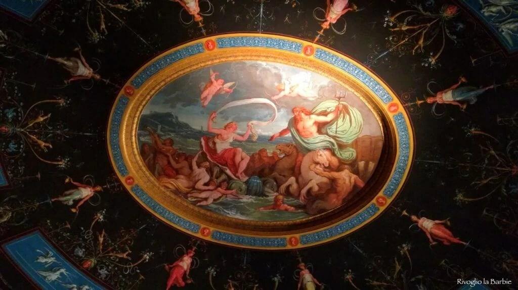 vestibolo del bagno palazzo Milzetti Faenza