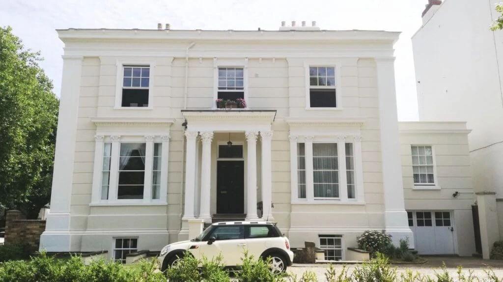 architettura regency Cheltenham