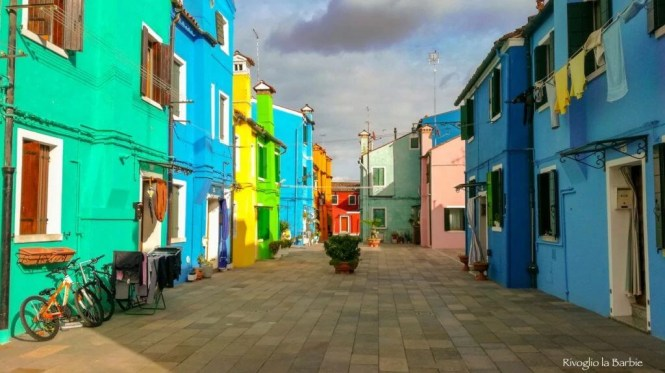 case colorate Burano