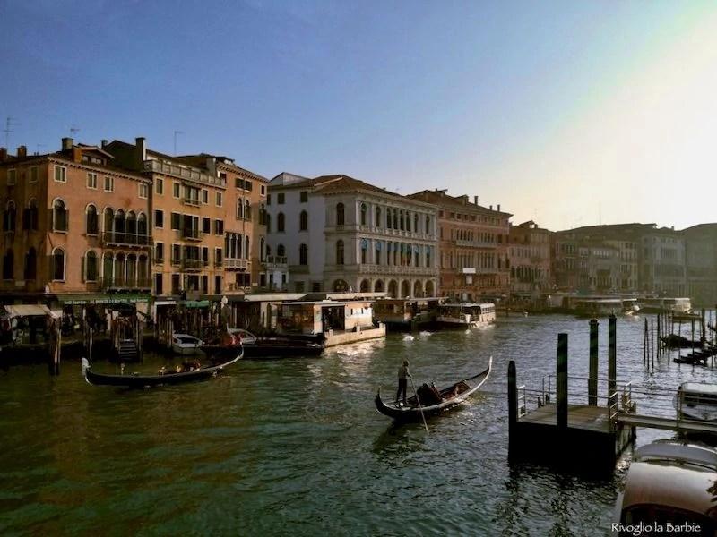 Venezia vista dal ponte di Rialto