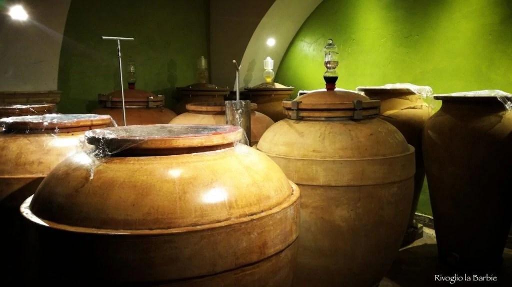 Anfore terracotta vino