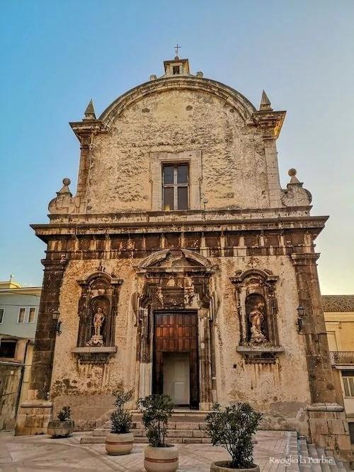 facciata chiesa di sant'eustachio ischitella