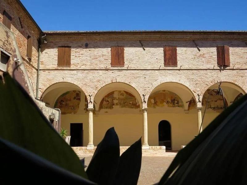 chiostro di sant'agostino mondolfo