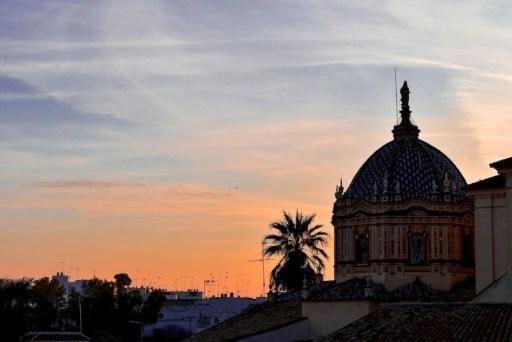 tramonto a Carmona