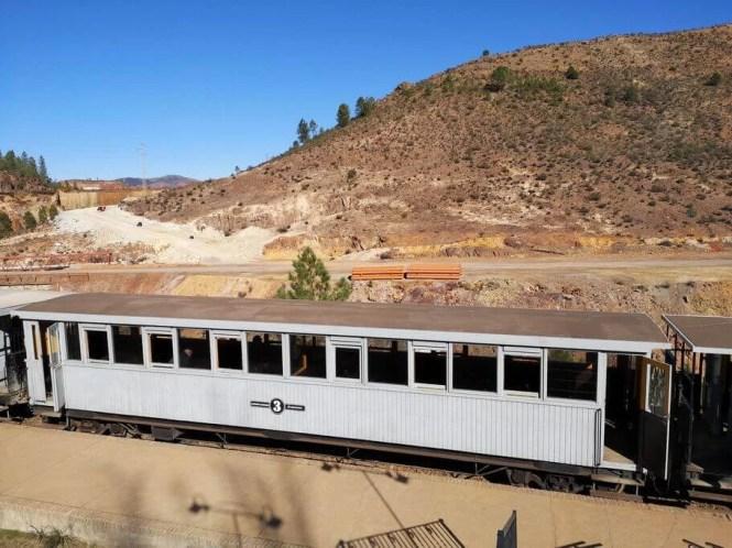 ferrocarril parque minero riotinto