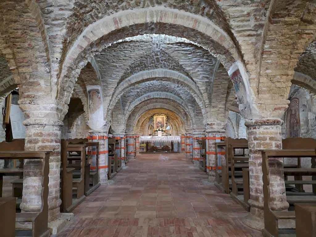 cripta santa maria della rocca offida