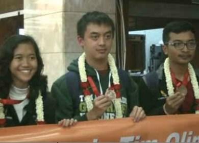 Indonesia Juara Olimpiade Geografi di Beijing