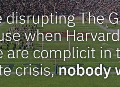 Protes Perubahan Iklim, Mahasiswa Interupsi Pertandingan Bola Harvard vs Yale