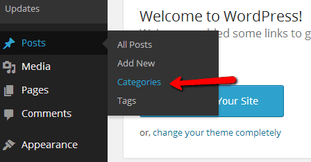 wordpress category