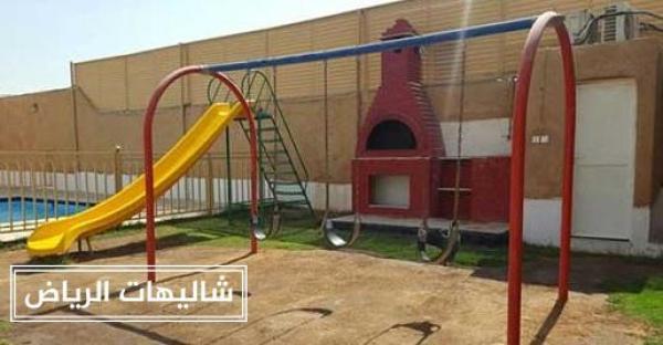 شاليهات اللوتس حي الرمال أوسع مساحات خضراء وألعاب أطفال