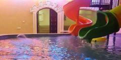 شاليهات القلعة المائية ظهرة نمار/غرفة خاصة بألعاب الأطفال وتبدأ من 400 ريال