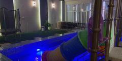 شاليهات همس الرمال شاليهات بألعاب مائية ومسابح بسعر 600 ريال