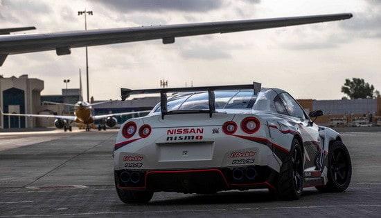 Nissan GT-R Breaks Guinness World Record for Fastest Drift (5)