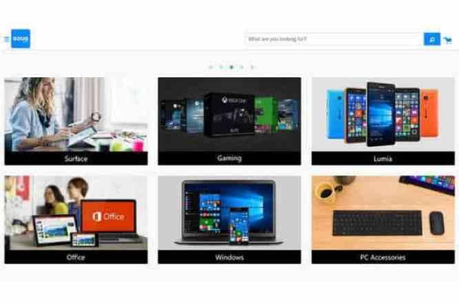 سوق دوت كوم تفتتح متجر مايكروسوفت على الشبكة العنكبوتية للعملاء في المملكة العربية السعودية والإمارات