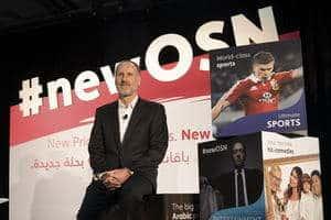 CEO of OSN Martin Stewart