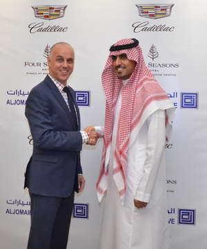 الجميح للسيارات تعقد إتفاقية إستراتيجية مع فندق فورسيزونز الرياض