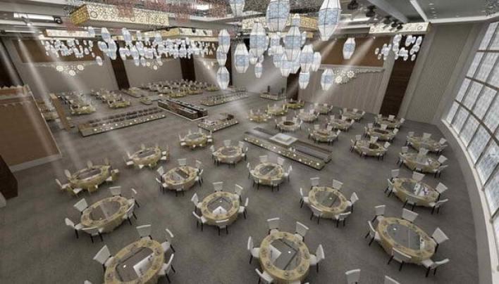 خيمة كمبينسكي الرمضانية.. وجهة الصائمين الاستثنائية