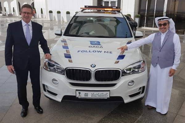 """شركة محمد يوسف ناغي للسيارات تطلق خدمة """" Follow Me"""" من BMW في الصالات الملكية في السعودية"""