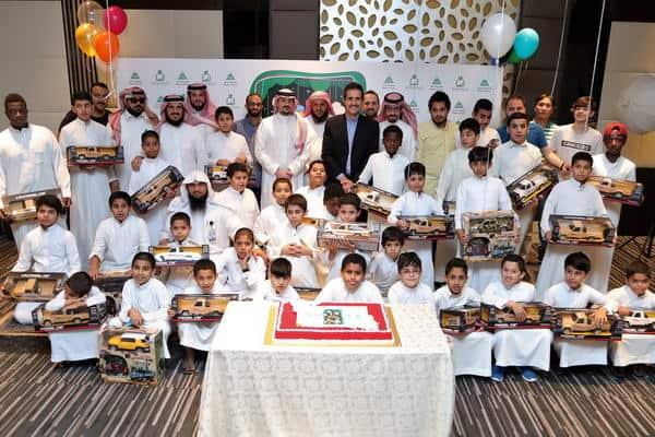 """مجموعة شاكر تحتفي بأبناء جمعية """"إنسان"""" بشهر رمضان المبارك"""