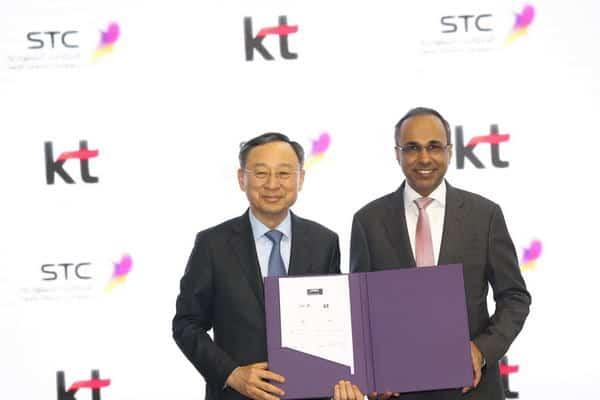 اتفاقية بين الاتصالات السعودية وكوريا تليكوم لتطوير البنية التحتية والمدن الذكية
