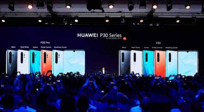 هواوي تغير قواعد التصوير بالهواتف الذكية بإطلاق سلسلة هواتف HUAWEI P30