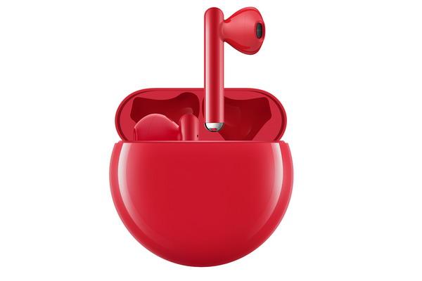 هواوي تطرح سماعات HUAWEI FreeBuds 3 باللون الأحمر