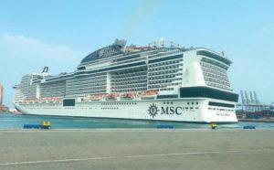 إبحار سفينة MSC Bellissima يرسم بداية حقبة جديدة في تاريخ ميناء جدة الإسلامي