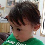 『鶴見・川崎でキッズカット。サロンデビューの【けいクン】』