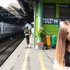 10h de train de Yogjkarta à Jakarta