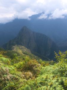 Machu Picchu, vue depuis la Montana