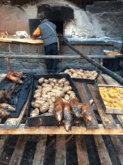 Cochon d'Inde grillé (cuy)