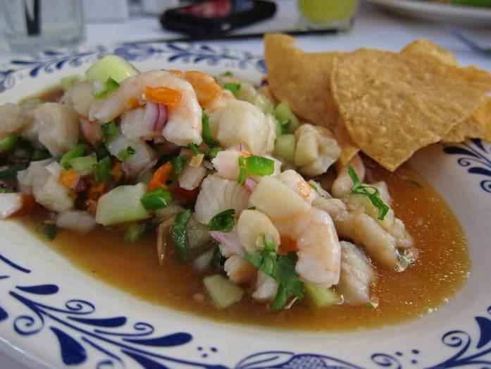 Ceviche, spécialité gastronomique péruvienne - tous droits réservés @Argentina Excepción