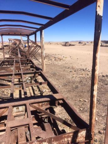 Cimetière trains miniers Uyuni