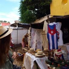Les marchés typiques de Trinidad, Cuba (2018)