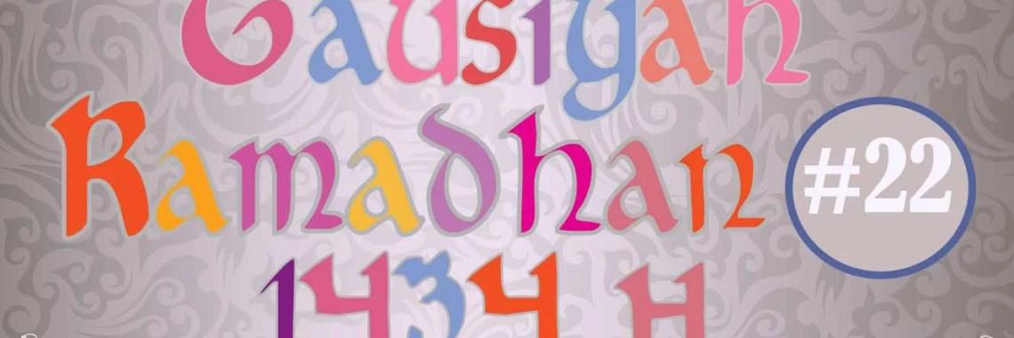 Tausiyah Ramadhan 1434 H